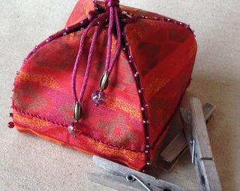 Ethnic jewelry box. Light and elegant. Valentines Day gift idea.