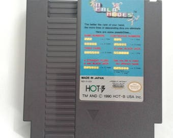 Nintendo Entertainment System NES Palamedea Pala Medes Video Game Cartridge
