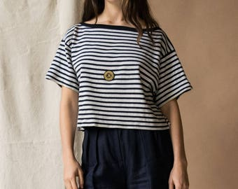 Sonia Rykiel Sailor Top