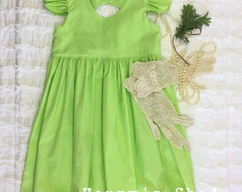 Lime Green size 2 party dress
