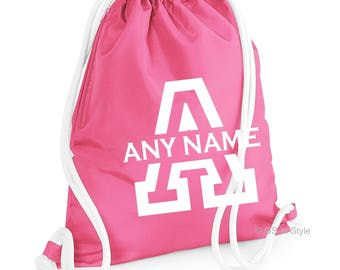 Personalised hi quality drawstring bag
