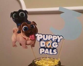 Puppy Dog Pals Centerpieces!