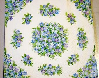 Decoupage napkin Paper napkin flowers floral flower Decoupage napkins paper napkins scrapbooking paper craft decoupage
