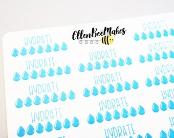 Hydrate Tracker Stickers