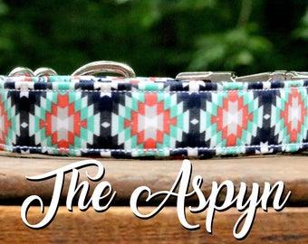 Dog Collar Tribal, Aztec Dog Collar, Southwest Style Dog Collar, Hipster Dog Collar, Southwestern Style, Dog Collar, Girl Dog Collar