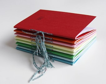 WELL-CRAFTED notebook - Red