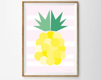 Pineapple Children's Print