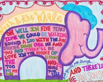 5 Years Time- Noah & The Whale Elephant