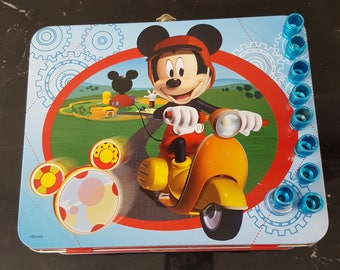 Mickey Hanukkah Menorah to go box