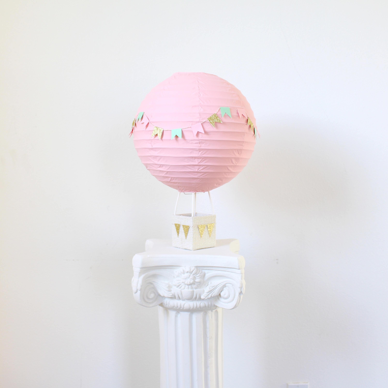 hot air balloon decoration baby shower centerpiece decoration bridal shower decor baby shower