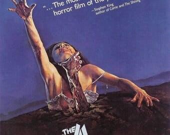 Back to School Sale: EVIL DEAD Movie Poster Art Ash Necronomicon Horror