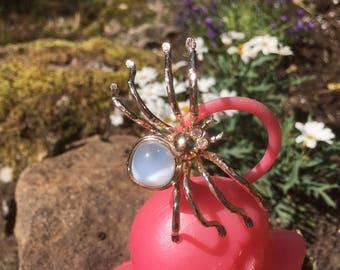 Retro Vintage 50s Brooch Spider