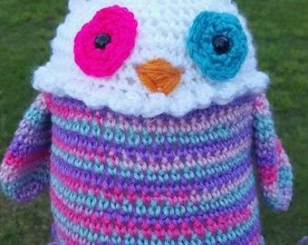"10"" Crochet Owl Plush"