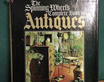 Large Vintage Antiques Book