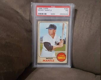 1968 Topps Mickey Mantle #280 PSA 7 NM