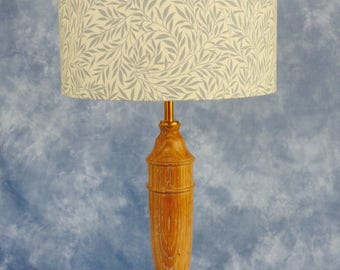 Limed Oak Table Lamp