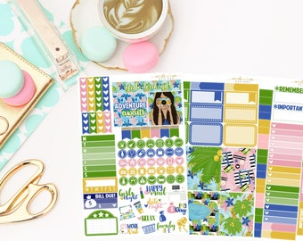 Getaway Personal Kit, Matte Removable planner stickers