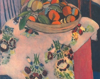 Matisse - Still Life with Oranges-  Beautiful art print - gift for artists art lovers  for dancers - great gift for graduates