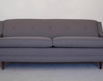 Beautiful 1960's Mid-Centur Danish Modern Sofa Reupholstered in Maharam - Wonderful Design!