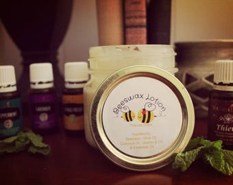 Essential Oil Beeswax Lotion