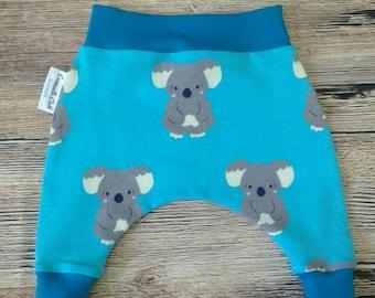 Harems, Baby Clothing, Koala, Trousers, kids clothing, Newborn.