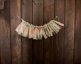 Ribbon Garland | Fabric Garland | Ribbon Backdrop | Custom Garland