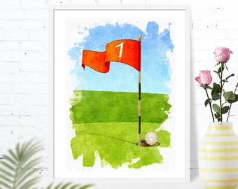 golf home decor golf art golf flag golf nursery golf gifts men golf decor golf gifts kids golf art print golf wall art golf gifts golf room