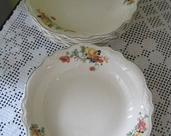 Vintage Homer Laughlin replacement tableware / Vintage Dishes of replacement Homer Laughlin