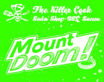 The Killer Cook Soda Shop's Mount Doom! Honey Mustard BBQ Sauce