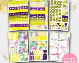 August Planner Stickers, Summer Stickers for Scrapbook, August Stickers, Planner Stickers, Teacher planner