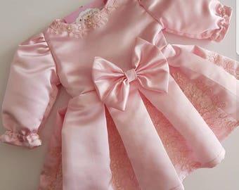 newborn outfit,baptism dress,girl clothing,newborn dress,easter dress,christening dress
