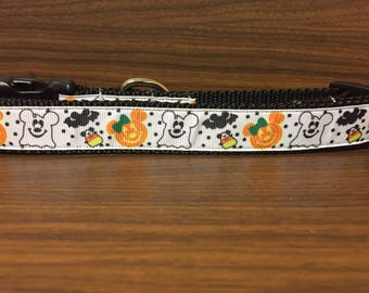 Mickey Halloween 1 inch Collar