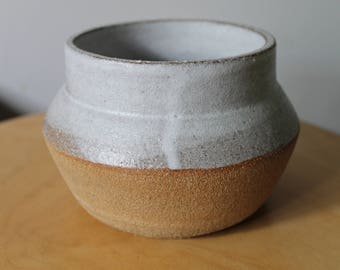 Small Textured Angled Vase