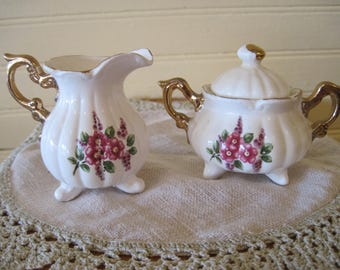 Miniature or Single Serve Sugar and Creamer - Item #1585