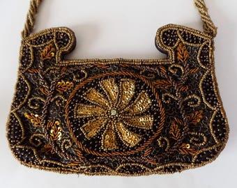Vintage Zardozi Embroidered Evening Bag / Purse