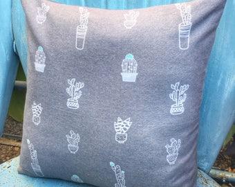 Cactus Pillow-Throw Pillow-Pillow Cover