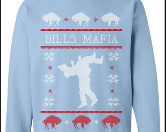 Bills Mafia Ugly Sweater