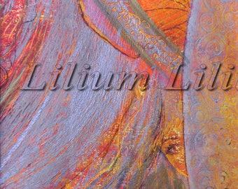 Lilith. Original pastel drawing