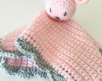 Crochet Snuggle Bear Blanket   snuggle bear blanket, baby snuggle blanket, baby bear snuggle blanket, baby bear lovey, crochet baby gifts