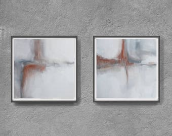 original print, gray,  home decor, scandinawian style art, Nordic Design, Grey Wall Decor, neutral colours, white art,landscape, diptych