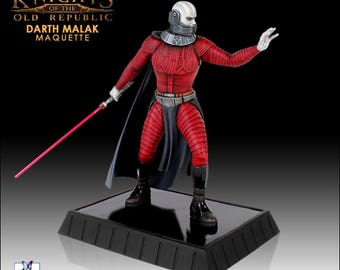 STAR WARS - Darth Malak statue - Gentle Giant