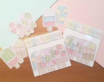 Popsicles - Sticker Pack
