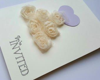 Unique Bridal Shower Invites * Handmade Bridal Shower Invitations