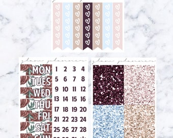 Cozy Cashmere Add-On Kit (Glam Planner Stickers for Erin Condren Life Planner)