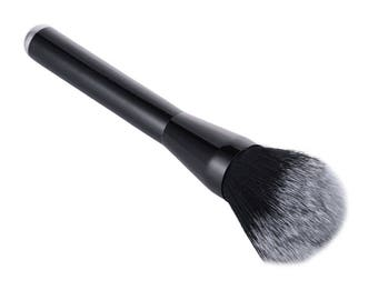 Jumbo XXL Foundation Brush Fluffy Bronzer Vegan Powder Synthetic Bristles Cruelty-Free Super Soft Professional Quality Washable Reusable!