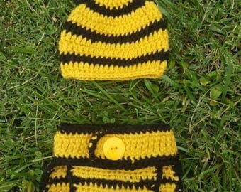 Crochet Bee Outfit