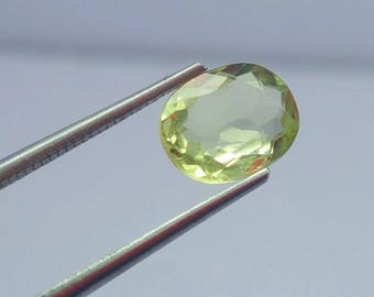 WOW 1.25 Carat Blue Lite Yellow Color Kunzaite @Afghanistan 9*8*5mm (29)