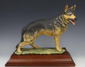 "Kaiser Porcelain figurine 528 Dog ""German Shepherd"""