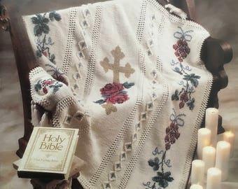 "Crochet Leaflet ""Victorian Cross"" (Vintage)"