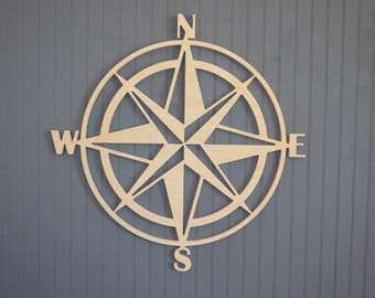 large wall compass etsy